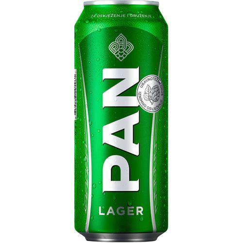 Pan svijetlo lager pivo  0,5l limenka slika 1