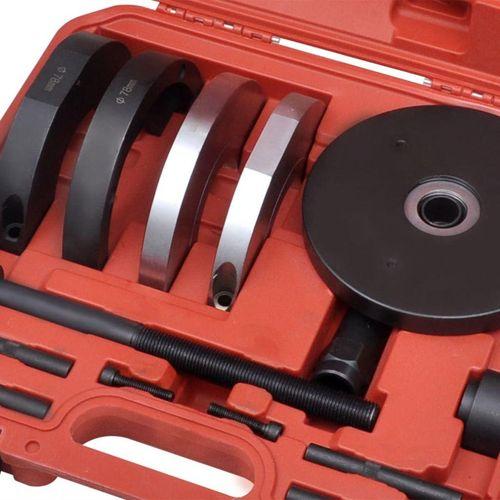 14-Dijelni Set Alata za Izmjenu Kugličnih Ležajeva prednjih kotača 78 mm Ford, Mazda, Volvo slika 2