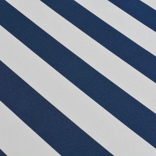 Tenda na Ručno Sklapanje 500 cm Plavo-Bijela slika 6