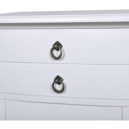 Telefonski kabinet/ Noćni kabinet 2 ladice, bijeli slika 2