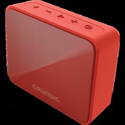 Bluetooth zvučnik GRUNDIG GBT SOLO omogućava s lakoćom povezati vaš smartphone čak do udaljenosti do 30m kako bi uživali u omiljenoj glazbi. Izlazna snaga od 3.5 W RMS omogućava dovoljnu količinu zvuka a ne morate se ni brinuti za trajanje baterije jer u ovom uređaju ista traje do 20 sati. Vodootporan po IPX7 standardu. Grundig zvučnik serije JAM je nezaobilazni dodatak gdje god da se nalazite.