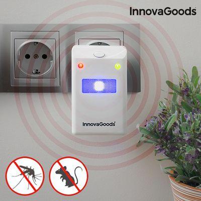 <p>Zaštitite svoj dom<strong>sredstvom za odbijanje insekata i glodavaca s LED svjetlom InnovaGoodsHome Pest</strong>, učinkovitim repelentom koji stvara zaštitni štit protiv štetočina kako bi držao domove slobodnim od insekata i glodavaca zahvaljuju...