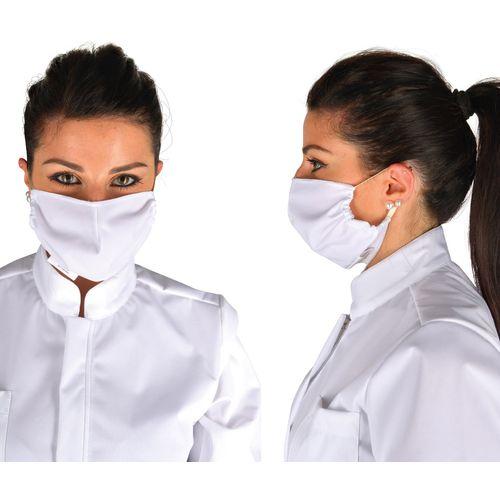 Višekratna kirurška maska TIP IIR - bijela slika 2