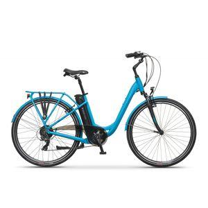 Apache Wakita City 28″ je električni bicikl namijenjen vožnji u gradu. S laganim aluminijskim okvirom s udobnom geometrijom i čitavim nizom udobnih sadržaja, bicikl koji čini vašu vožnju lakšom kroz gradske gužve, ekonomičan put na posao te ugodnu rekreaciju nakon posla.