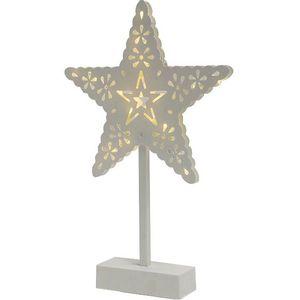 Dekorativna rasvjeta, zvijezda, 20 komada LED lampica, toplo bijela boja, materijal izrade plastika, napajanje 3 x 1,5V AA baterija
