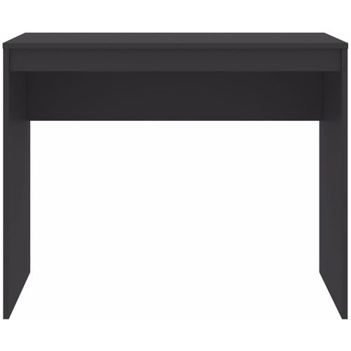 Radni stol sivi 90 x 40 x 72 cm od iverice slika 10