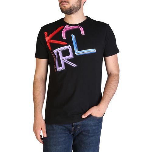 Karl Lagerfeld muška majica KL21MTS02 Black slika 1