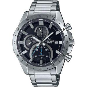 Casio Edifice muški sat EFR-571D-1AVUEF je s razlogom jedan od najpopularnijih proizvoda iz CASIO kolekcije. Predivan muški sat na kojem dominira srebrna boja kućišta te siva boja brojčanika. Nehrđajući čelik i srebrna boja remena doista su odlična kombinacija. Ovaj prekrasan CASIO muški sat pokreće quartz mehanizam.