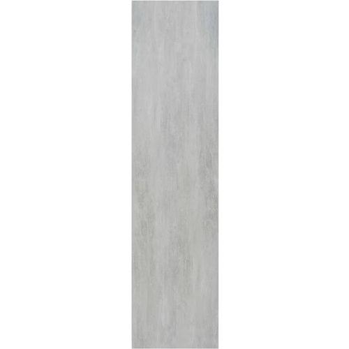 Ormar siva boja betona 100 x 50 x 200 cm od iverice slika 6
