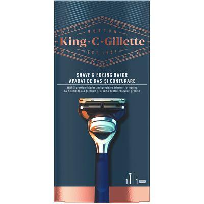 Vrhunac više od stoljeća inovacija i stručnosti te jedina linija koja nosi ime osnivača naše tvrtke: King C. Gillette. Brijač dizajniran kako bi vam pomogao postići savršeni stil i izgled. Precizni trimer pomaže dosegnuti problematična područja, a vrhunska drška osigurava kontrolu pri svakom brijanju.