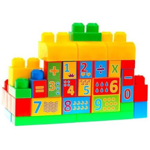 Set 35 raznobojnih kockica (18mj+) slika 2