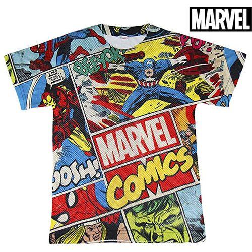 Djecje Majica Kratkih Rukava Marvel 71985 Pisana Bazzar Hr