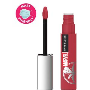 Maybelline New York x Marvel Superstay Matte Ink tekući ruž 80 Ruler