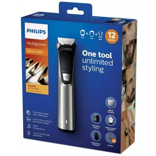 Philips Multigroom series 7000 12 u 1, lice, kosa i dlačice na tijelu MG7735/15 slika 5