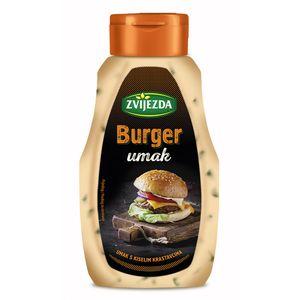 Burger umak  Umak s kiselim krastavcima, najbolja kombinacija okusa za svaki burger.