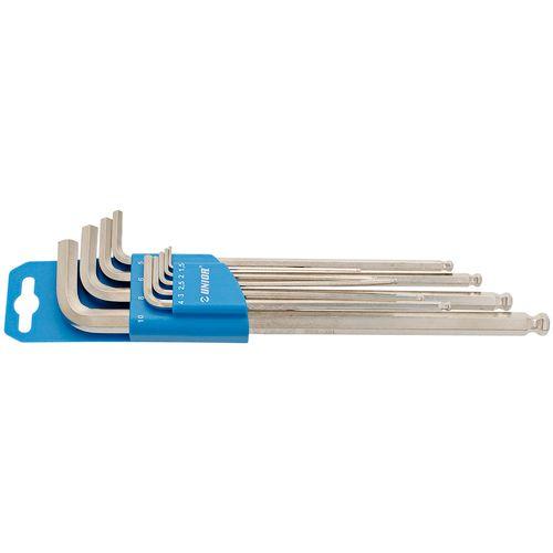 Ključ imbus dugi s kuglom 1,5-10 UNIOR 220SL (608534) slika 1
