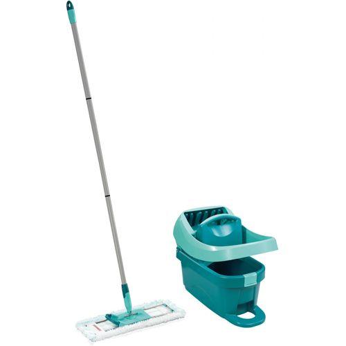 Leifheit set za čišćenje podova sa kotačićimapress profi xl, 42cm, 8l slika 1