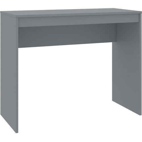 Radni stol sivi 90 x 40 x 72 cm od iverice slika 2