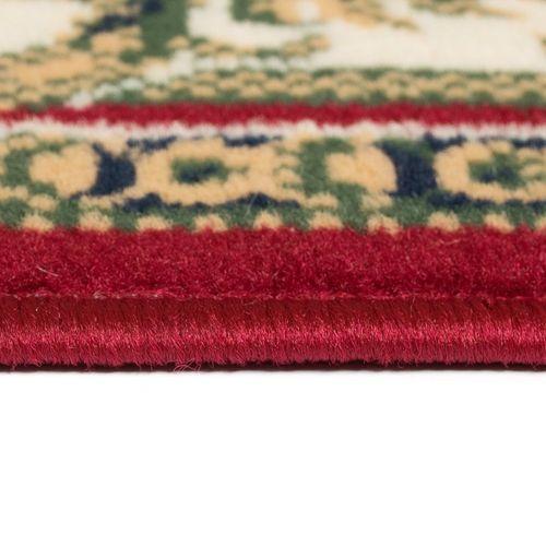 Orijentalni tepih perzijskog dizajna 180 x 280 cm crveni/bež slika 3