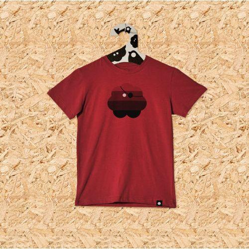 Dječja majica GUSARSKA cigla crvena slika 1