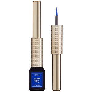 L'Oreal Paris Matte Signature  tuš za oči 02 Blue tuš za oči s preciznim aplikatorom za lako nanošenje.