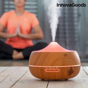 Odsada možete kupitinoviOvlaživač i Raspršivač Mirisa Wooden-Effect InnovaGoods Home Deco neizostavan dodatak za najugodnije zen prostorije. Njegov inovativni dizajn 2 u 1 u zen stilu poboljšava kvalitetu zraka, omogućavajući bol...