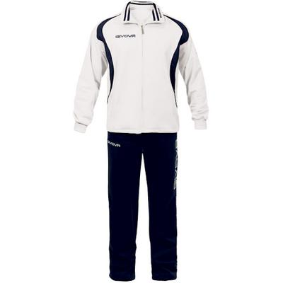 GIVOVA je stvorena posebno za one koji traže udobnu sportsku odjeću po izvrsnoj cijeni.<br> Zahvaljujući upotrebi modernih materijala, odjeća je otporna na često pranje - uvijek će zasjati svijetlim bojama. Njene mekane tkanine i elastična vlakna prilagođavaju se vašem tijelu, kopiraju svaki pokret i dinamički odvode znoj i druge tekućine iz tijela.<br>Boja: bijelo tamno plavo