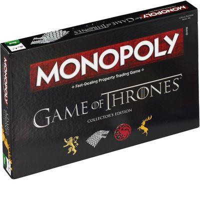 Monopoly Game of Thrones Collectors Edition igra sa očaravajućim dizajnom i velikim, rukom rađenim figurama u originalnoj Game of Thrones kutiji, svakog će obožavatelja prenijeti u svijet intrige, časti i izdaje. Napokon, kad igrate Monopoly Game...