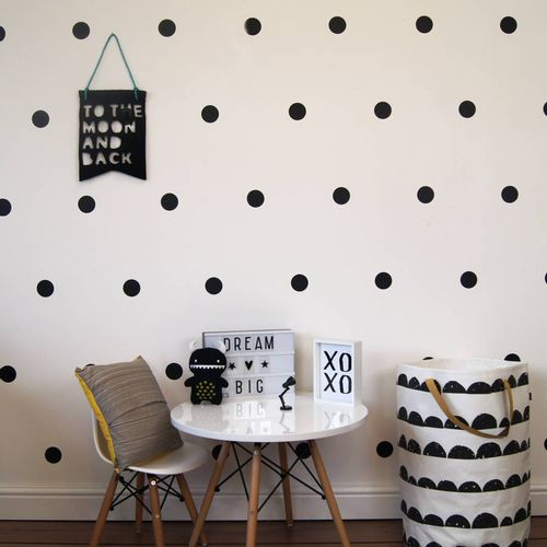 Zidne naljepnice — CRNE • 50% gratis slika 1