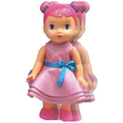 <p>Obožavaš pjesmice i voliš ih pjevati? Lutka Glitter će s tobom zapjevati refrene dviju dječjih pjesmica na hrvatskom jeziku.</p> <p><strong>Karakteristike:</strong></p> veličina 33 cm.
