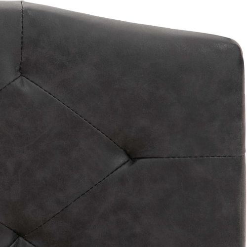 Krevet od tkanine s memorijskim madracem crni 180 x 200 cm slika 8