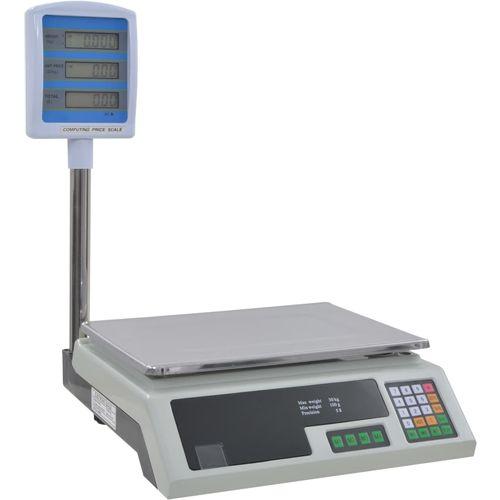 Elektronička vaga za pakete s LCD zaslonom 30 kg slika 3