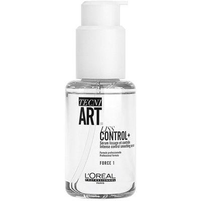 Tecni.Art Liss Control Plus je serum za intenzivnu zaglađenost i kontrolu, za zaštitu od vlage tijekom 24 sata*. Idealan za zaglađen visok rep, kontrolu frizza za disciplinirano sušenje kose.  *Intrumentalni test