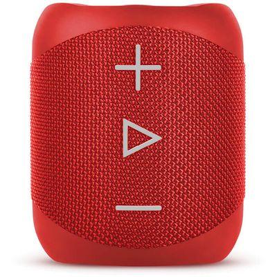 Sharp GX-BT180 stereo Bluetooth zvučnik s ukupnom snagom od 14 W nudi potpun i dinamičan zvuk i snažan bas uz mogućnost maksimalnih 10 sati reprodukcije (baterija punjiva putem micro USB priključka). Integracija s Voice Assistantom (Siri ili Google) i Simple one Touch kontrole čine ga jednostavnim i lakim za upravljanje.