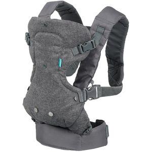 Pogodno za dojenčad od 3,6 do 14,5 kg (8 do 32 lbs).        Upotrijebite uski položaj sjedala i podstavljenu podršku za glavu kako biste udobno držali malu dojenčad. Prebacite se na široki položaj da nastavite pružati ergonomsko sjedalo okrenuto dok vaše dijete raste.