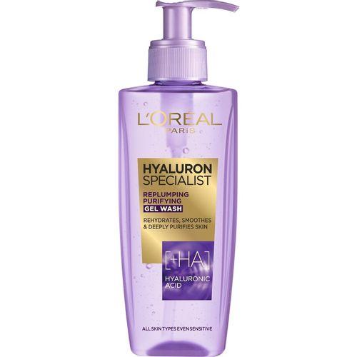 L'Oreal Paris Hyaluron Specialist gel za čišćenje lica 200 ml slika 1