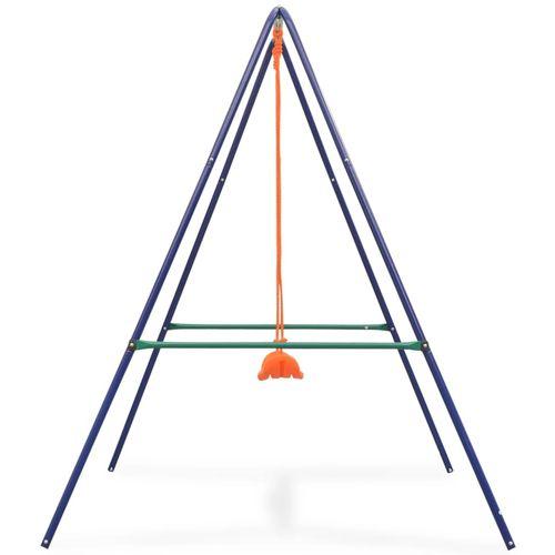 2-u-1 obična ljuljačka i ljuljačka za malu djecu narančasta slika 13
