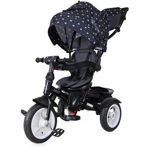Vaše će dijete uživati u svim pogodnostima koje će mu pružiti ovaj LORELLI NEO AIR tricikl! A i Vi ćete primijetiti da su šetnje u isto vrijeme i ugodne i aktivne.  - AIR gumeni kotači sa zračnicama - Sjedalo u suprotnom smjeru - Naslon na nekoliko razina - Košara za odlaganje - Volan na 2 razine - Pedale s lock sistemom - Uklonjiva prednja prečka - Prozorčić na kupoli
