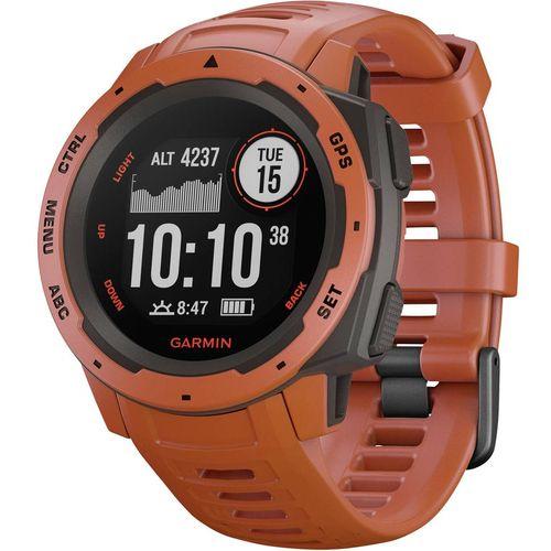 GPS sportski sat Garmin INSTINCT Hellrot/Schiefergrau Svijetlocrvena slika 3