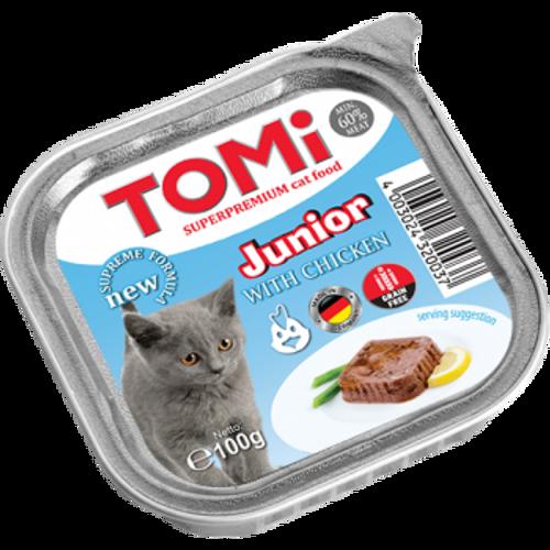 Tomi Hrana za mačke ALU zdjelice Junior 100g slika 1