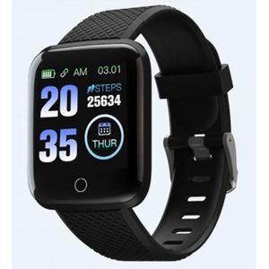 """Ekran: 1.3"""" TFT Rezolucija: 240 x 240 piksela Kapacitet baterije: 150mAh Vodootporan: IPX7 zaštita Vrijeme korištenja: 5-7 dana Vrijeme u pripravnosti: 20 dana Aplikacija: FitPro Napajanje: 5V, 1A"""