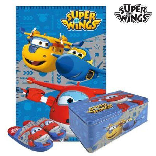 <html><html><html>Djeca zaslužuju najbolje, zato vam predstavljamo <b>Metalna Kutija s Dekom i Papučama Super Wings 70793 (3 pcs) 3 pcs</b>, savršen za one koji traže kvalitetne proizvode za svoje mališane! Nabavite <b>Super Wings</b> i druge robne marke i licence po na...</html></html></html>