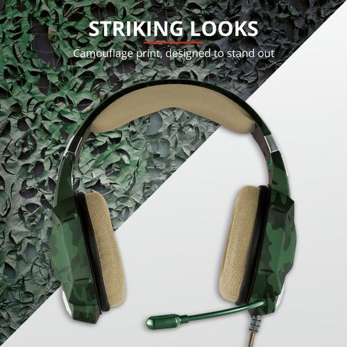Trust gaming slušalice za PS4/PS5 GXT322 Carus maskirno zelene (20865) slika 4