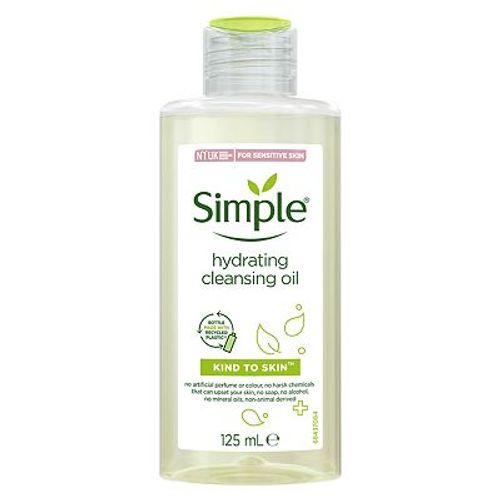 Simple Kind to Skin hidratantno ulje za čišćenje lica 125 ml slika 1