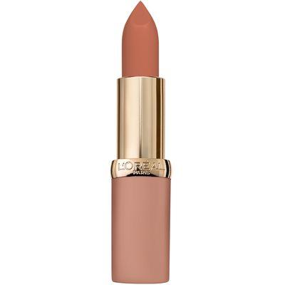 L'Oreal Paris Color Riche Nudes ruž 01 No Obstacles  Kolekcija ruževa free the nudes ultra mat. Kremasta tekstura za lako nanošenje i ugodan osjećaj na usnama.