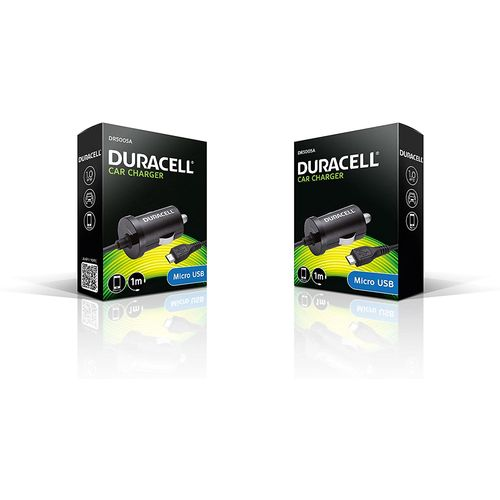 Duracell Autopunjač – Micro USB - 12V - 1A – Black  slika 1