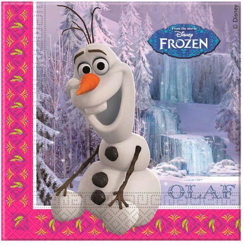 Disney Frozen set 20 napkins slika 1