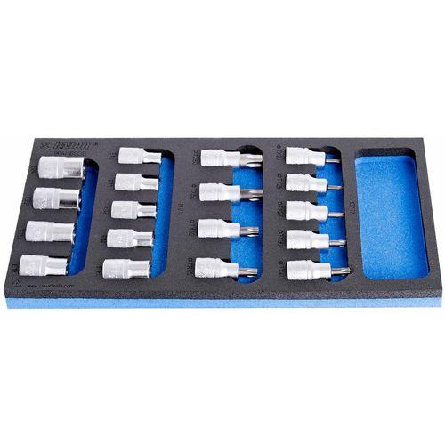 Garnitura nasadnih ključeva 192TX, 191 18/1 UNIOR 964/16 SOS (621071)  slika 1