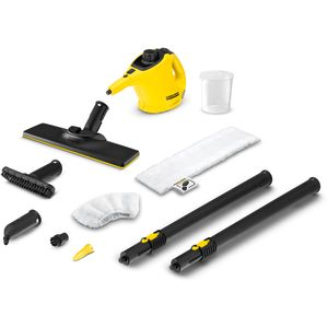 Kompaktni 2 u 1 mop na paru SC 1 EasyFix idealan je za brzo, povremeno čišćenje bez kemije, a zahvaljujući isporučenoj podnoj mlaznici EasyFix također savršeno čisti i podove.