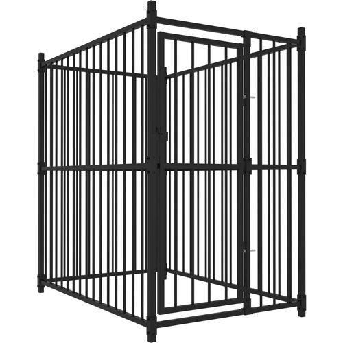 Vanjski kavez za pse 150 x 100 x 150 cm slika 1